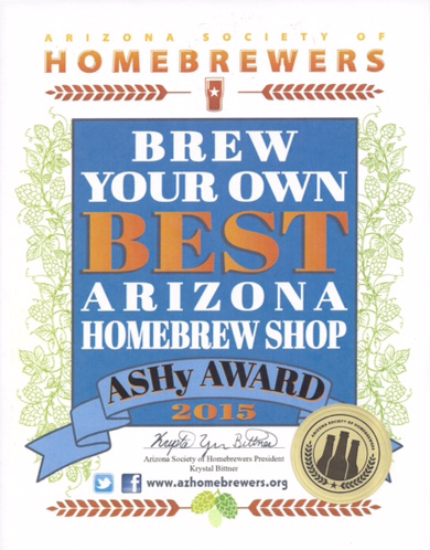 2015 Best Homebrew Shop